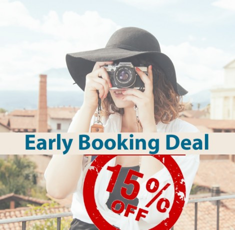 Early Booking Deal